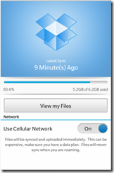 Dropbox - online storage