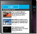 BlackBerry® App Generator - style
