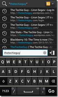 BlackBerry Z10 - how to change the search engine