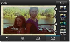 BlackBerry Z10 - Photo Editor