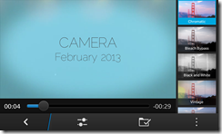 BlackBerry Z10 - Camera Story Maker