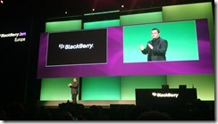 BlackBerry JAM Europe
