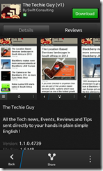 The Techie Guy app