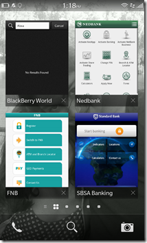BlackBerry 10 - SA Banks