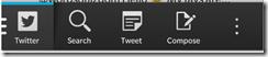 Twitter update BlackBerry Z10
