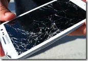 Samsung screen damage