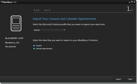 BlackBerry Link gets upgraded to 1.0.1