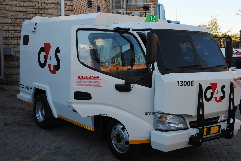 Can foam be used to deter Cash In Transit hijackers ? -
